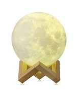 CPLA Moon Lamp 3D Moon Light led Night Light Touch Control and (5.9in-3 ... - $36.62