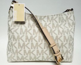 Michael Kors Fulton Medium Messenger Bag - Vanilla - $185.00