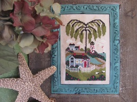Bayside Bungalow cross stitch chart By The Bay Needleart  - $9.00
