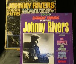 Johnny Rivers' Golden Hits and Johnny Rivers Also Starring The Tremonts AA20-RC2 image 3