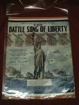 "Vintage Original ""The Battle Song Of Liberty"" Sheet Music - $24.74"