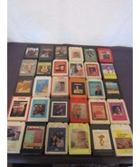 8-Track Lot 30 Country Hank Fender Wynette Lynn Twitty Robbins Elvis Pay... - $24.84