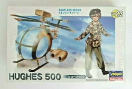 Hasegawa Eggplane Series Hughes 500 2012 Model #60133 Japan TH23 Factory... - $17.99
