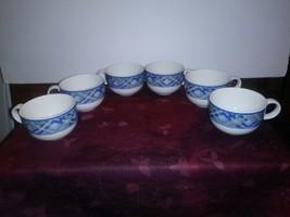 Set of 6 Royal Doulton GLEN ORA Tea Cups  - £36.16 GBP