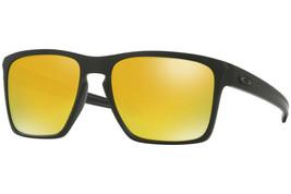 Oakley Lunettes de Soleil Slive XL Mat Noir avec / 24K Iridium OO9341-07 - $155.51