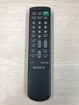 Sony Trinitron RM-861 Remote Control Tested And Cleaned                     (O8)