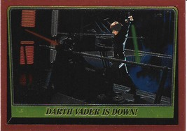 1999 Topps Star Wars Chrome Archives #86 Darth Vader Is Down! > Luke Skywalke - $1.49