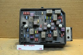 2008-2011 Chevrolet Impala Fuse Box Junction Relay 20817314 Unit 103-13a4 - $29.99