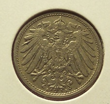 KM #12 Imperial Germany 1912-A 10 Pfennig Coin #01114 - $3.29