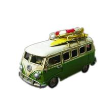 Creative Gifts-Vintage Green Bus Model Decorations/Skateboard, Lifebuoy