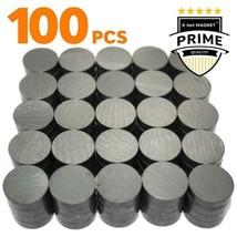 Lot 100 pcs aimants céramique - Petit disque magnet rond 18 mm (0,709 po... - $26.67