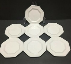 Johnson Brothers Heritage White Set of 7 Bread & Butter Plates PD19 - $42.95
