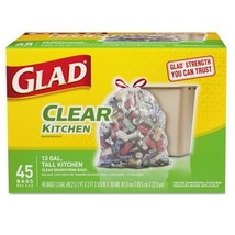 Glad Recycle Bag13g 45ct Pack of 4 - $447,08 MXN