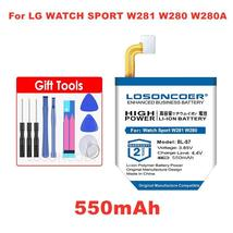 LOSONCOER 550mAh BL-S7 Batteries for LG Watch Sport W281 W280 W280A (AT&... - $26.02