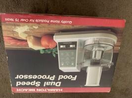 Hamilton Beach Dual Speed Food Processor 702w NOS unused new in box - $108.90