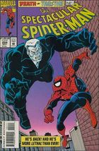 Marvel The Spectacular SPIDER-MAN (1976 Series) #204 Fn - £0.55 GBP
