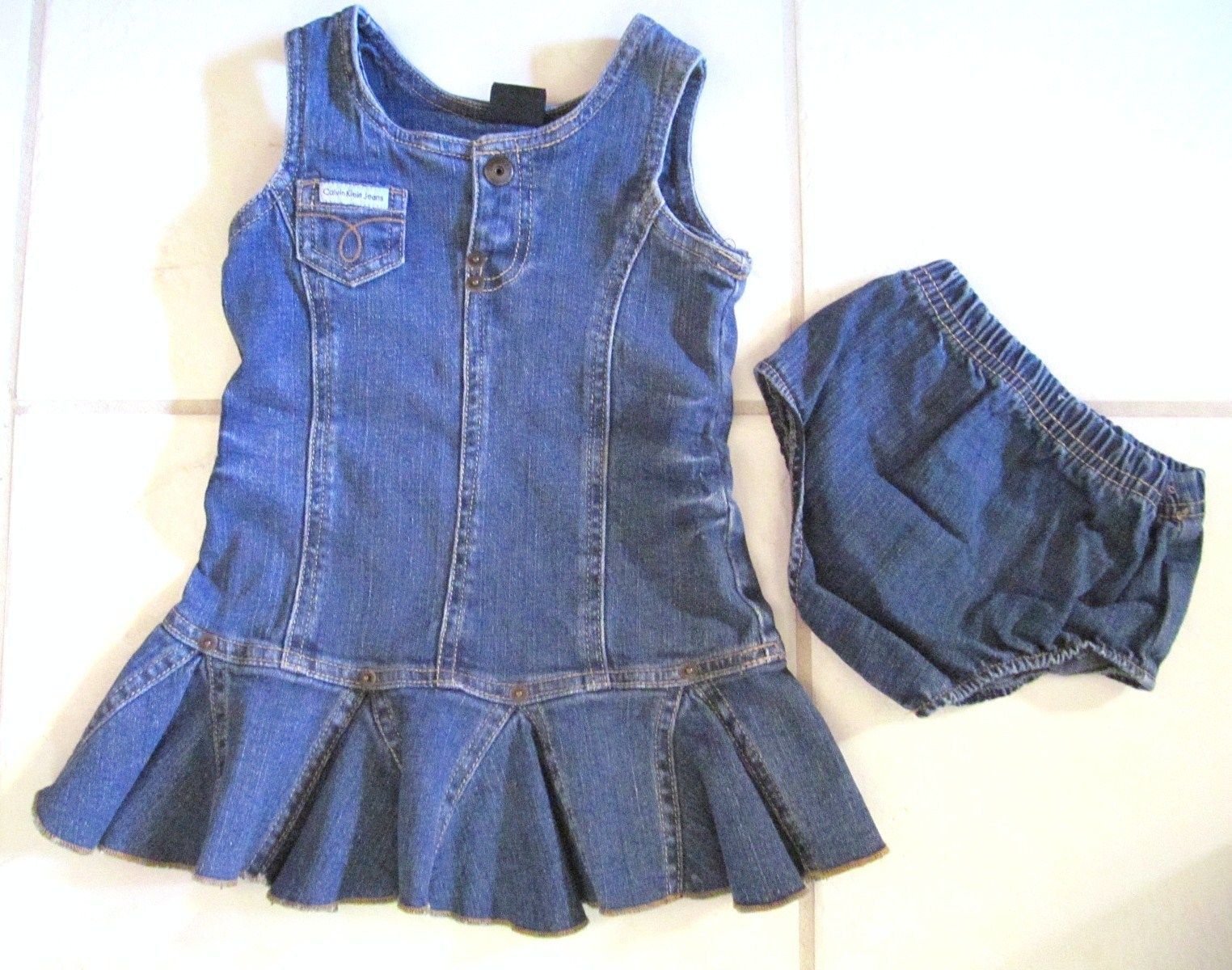 d1eb6cce377 Calvin Klein J EAN S Girls 2 Pc Wash Cotton and 50 similar items