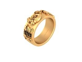 Aquatic Mermaid Seahorse Ring Mermaid Wedding Band Black Diamond Engagement Band - $2,489.99