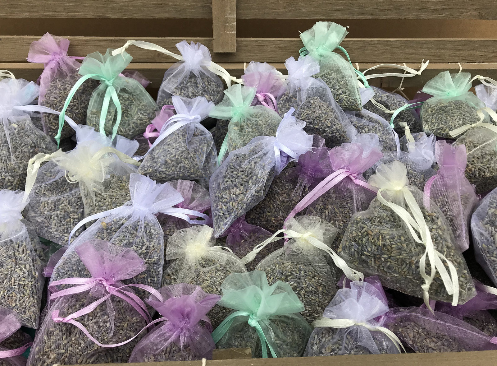 Primary image for French Lavender sachet favors for small gift Qty 50 assorted