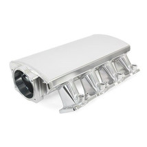 LS7 7.0L 102mm FABRICATED INTAKE MANIFOLD ALUMINUM SHORT CLEAR ANODIZED
