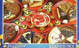 Decadent Cheesecakes - Puzzlebug 500 Piece Jigsaw Puzzle - $5.81