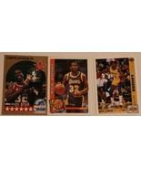 Magic Johnson Lot of 3 Trading Cards Basketball NBA L.A. Lakers Lot 2 - $3.95