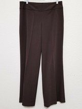 "THE LIMITED Womens Brown Dress Pants 8 (31"" Inseam) Stretch Slacks Aubre... - $21.10"