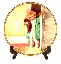 Hamilton Collection Bessie Pease Cutmann plate Good Morning from A Child's - $44.88