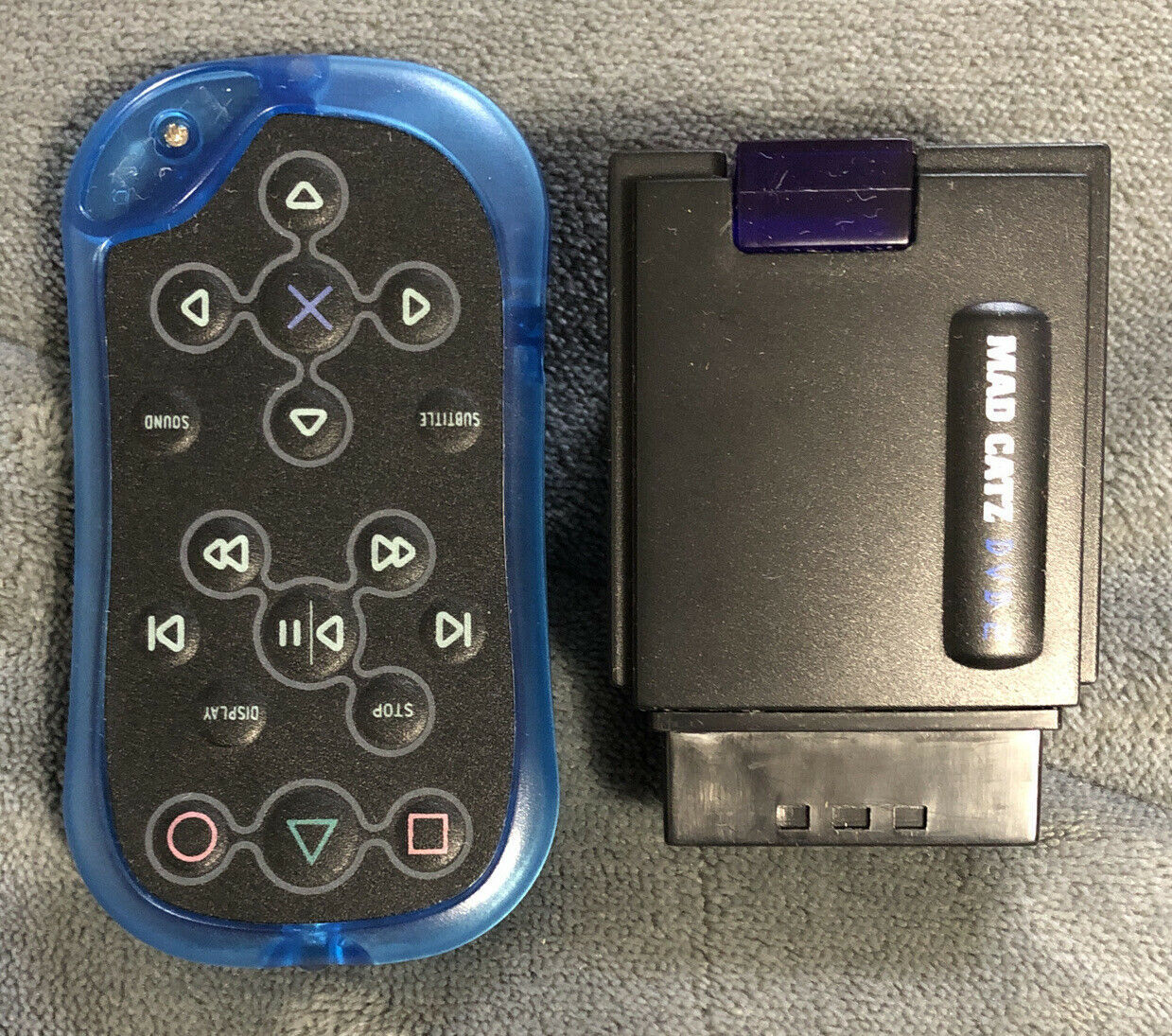 Primary image for PS2 Mad Catz DVD 2 Remote and Receiver Dongle - PlayStation 2