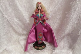 ROYAL SPLENDOR BARBIE W/STAND - $32.73