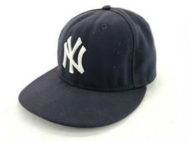 "59Fifty New Era Black NY Official Onfield Baseball Cap Size 6 7/8"" - €18,05 EUR"