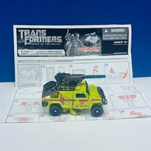 Transformers action figure robot toy Hasbro manual 2009 Ratchet Revenge fallen image 1