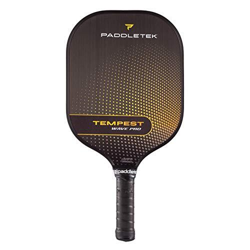 Primary image for Paddletek Tempest Wave Pro Pickleball Paddle | Standard Grip | Horizon (Yellow)