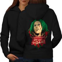 Clown Love Rose Horror Sweatshirt Hoody  Women Hoodie Back - $21.99+