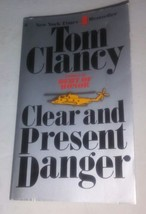 A Jack Ryan Novel : Clear And Present Danger Tom Clancy (1990, Taschenbuch) - $11.51