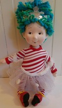 "Madame Alexander Fancy Nancy Snowflakes Christmas Doll 18"" 2008 Rare - $72.75"