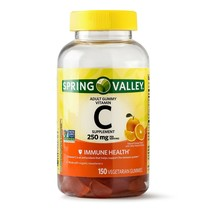 Spring Valley Vitamin C Gummy, 250 mg, 150 Ct..+ - $25.99