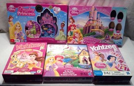 Lot of 5 Board Games Disney Princess Candy Land... - $59.99