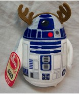 "Hallmark Itty Bittys Star Wars HOLIDAY R2-D2 REINDEER 4"" Plush STUFFED T... - $19.80"
