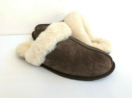 Ugg Scuffette Ii Espresso Wool Shearling Lined Slippers Us 7 / Eu 38 / Uk 5 - $92.57