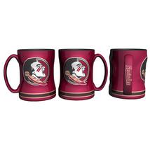 Florida State Seminoles Coffee Mug - 14oz Sculpted Relief - New Logo**Free Shipp - $21.20