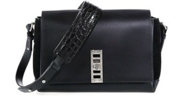 PROENZA SCHOULER black leather PS Elliot Shoulder Bag - $863.04