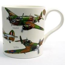 Classic Planes Fine China Mug by Leonardo  Hurricane Lancaster Spitfire ... - $7.85