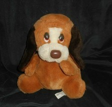 "10"" Vintage Russ Berrie Baxter Puppy Dog Hand Puppet Stuffed Animal Plush Toy - $23.38"
