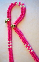 ENDURANCE PINK ~ HORSE RHYTHM BEADS ~ Size 54 Inches - $19.00