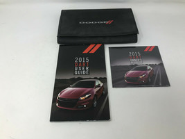 2015 Dodge Dart Owners Manual Handbook Set with Case Z0A0669 - $49.49
