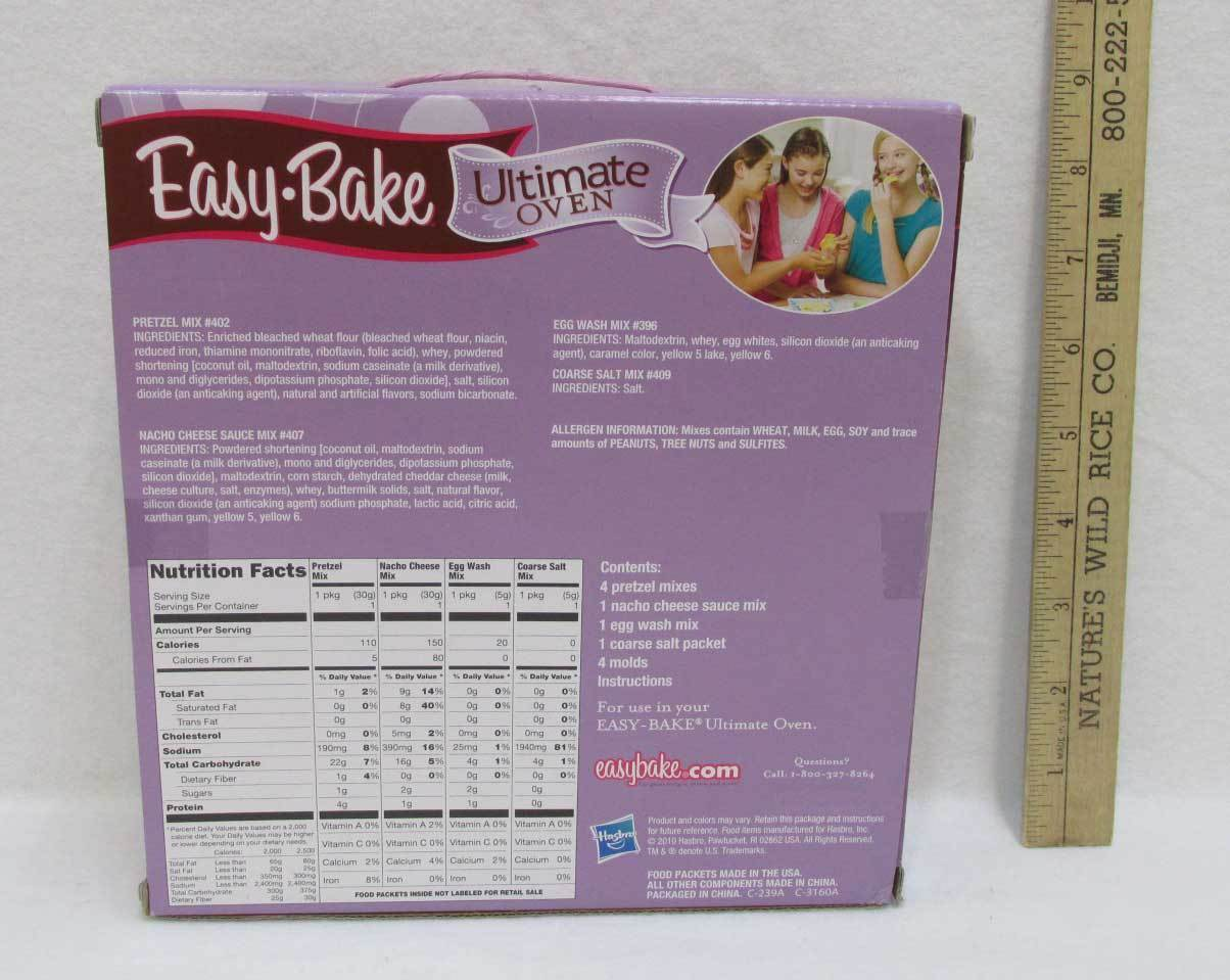 Easy Bake Ultimate Oven With Party Pretzel And 50 Similar Items
