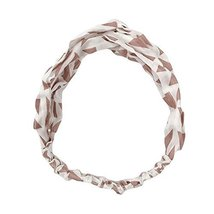 Cotton/Linen Vintage Elastic Hair Band Nylon Headwrap Headband Hairband image 1