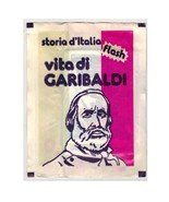 Storia d'Italia Vita di Garibaldi Sealed Pack Stickers Flash Lampo - $4.00