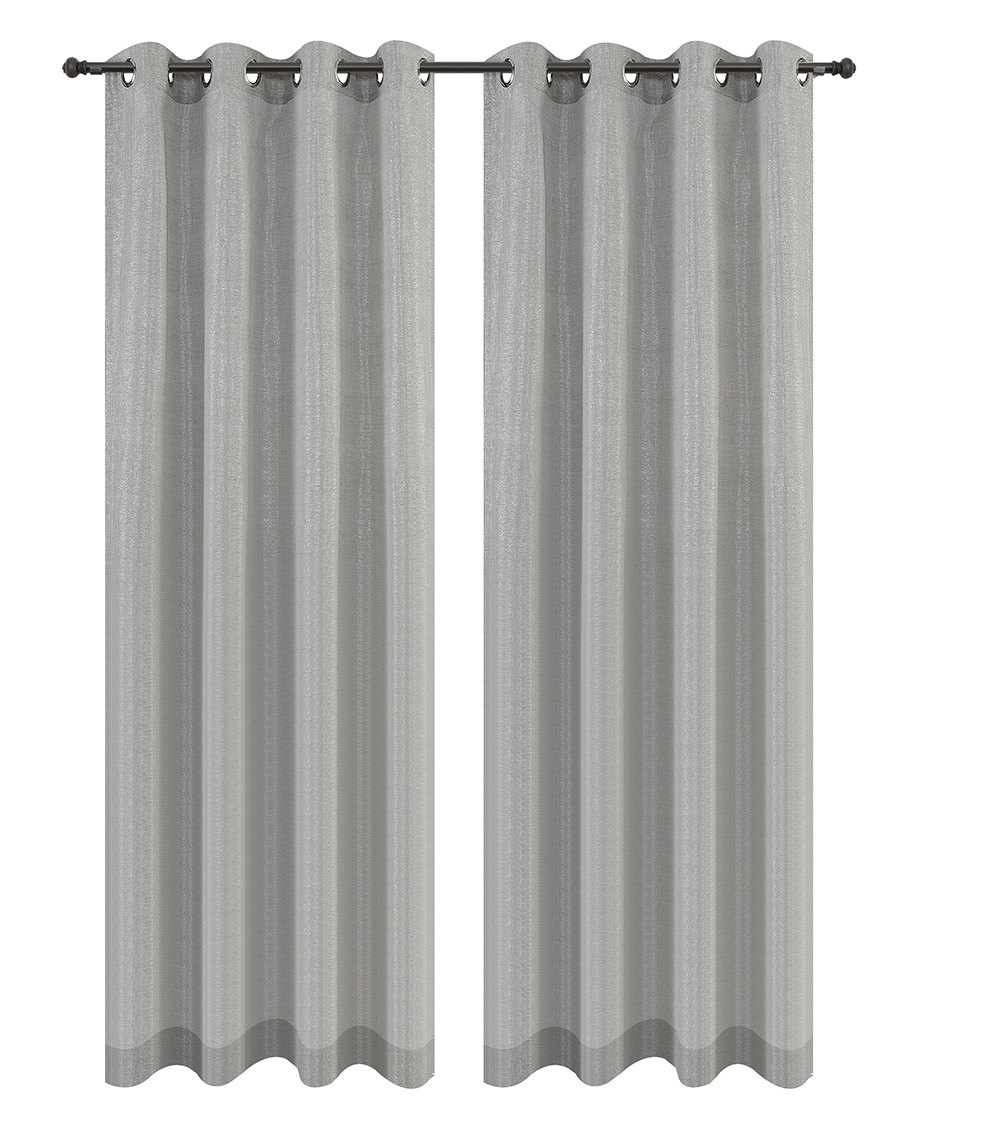 Urbanest Cosmo Set of 2 Sheer Curtain Panels w/ Grommets image 4
